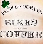 people demand bikes and coffee