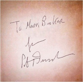 Peter Drucker signature