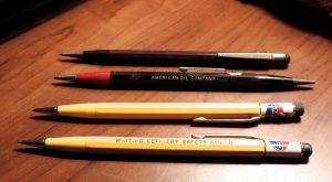 amoco vintage pencils